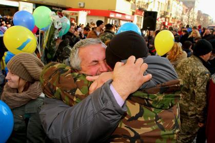 Украинская армия стала одной из самых боеспособных в Европе. Героизм наших воинов - залог победы над врагом, - Турчинов - Цензор.НЕТ 1423